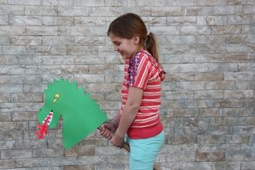 Dino zum selbstbasteln