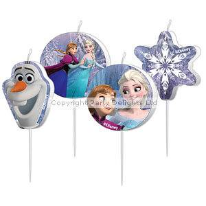 Kerzen Disney Frozen (4er Set)