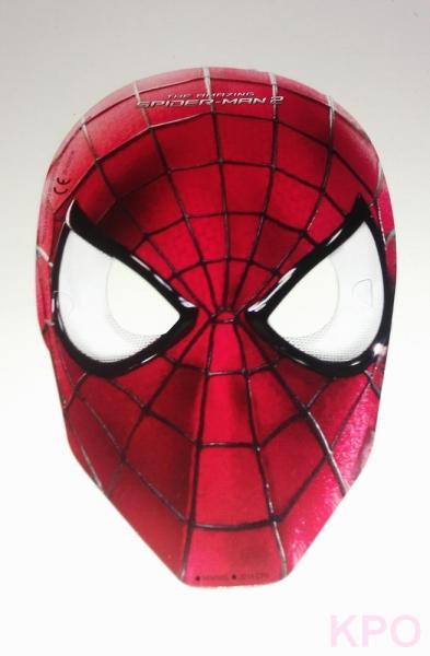 spiderman maske kinderparty. Black Bedroom Furniture Sets. Home Design Ideas