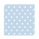 Servietten Blue dots (20)