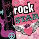 Servietten Rock Star