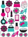 Pink Zebra Boutique Sticker (Glamour)