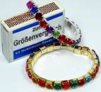 Armband in Diamantenoptik