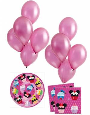 Minie Mouse Partyset D-Lish