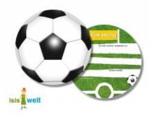 Einladung Fussball   Kinderparty Onlineshop.de, Einladungsentwurf. Einladungskarten  Kindergeburtstag ...