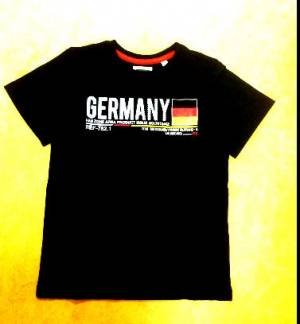 Deuschland Fan T-Shirt Gr. 116
