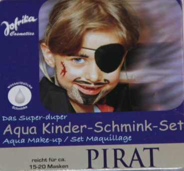 "Aqua Creativ Schminkfarben-Set ""Piraten"""
