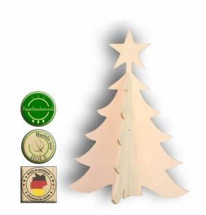Weihnachtsbaum Spiele.Bastelset Aufsteller Weihnachtsbaum Mit Stern 3 D
