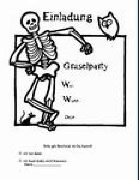Einladung Gruselparty
