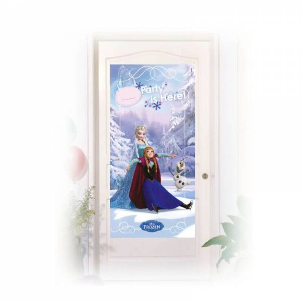 Frozen - Eiskönigin Ice Skating Tür Banner
