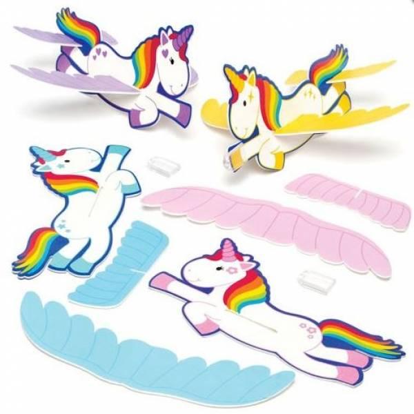 fliegendes regenbogen einhorn  kindergeburstag