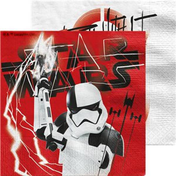 "Serviette Star Wars ""The last Jedi"""