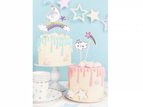 Cake Topper Einhorn