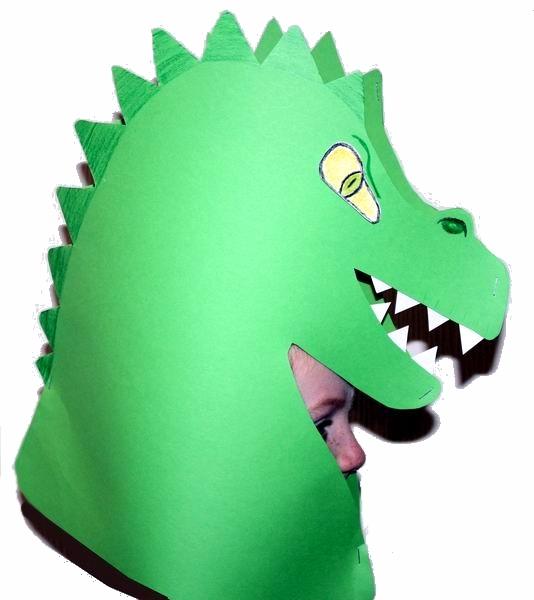 Dinohut Zum Selbstbasteln Kindergeburstag Kindergeburtstag Spiele