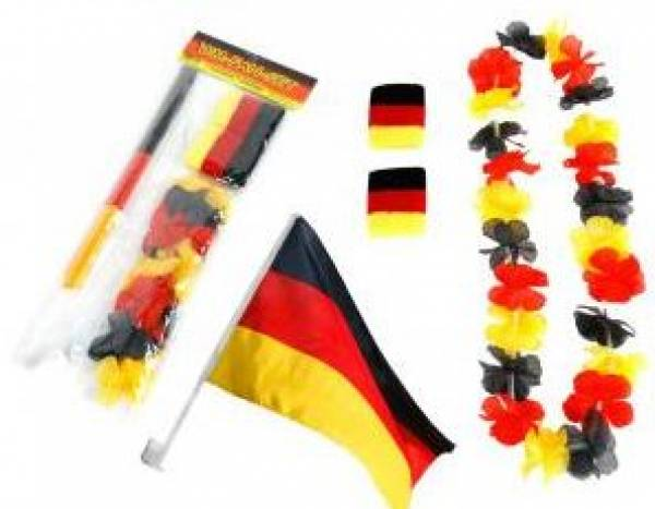 Deutschland fan set kinderparty for Deutschland deko
