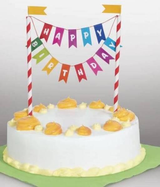 Kuchendeko Happy Birthday Kindergeburstag Kindergeburtstag Spiele