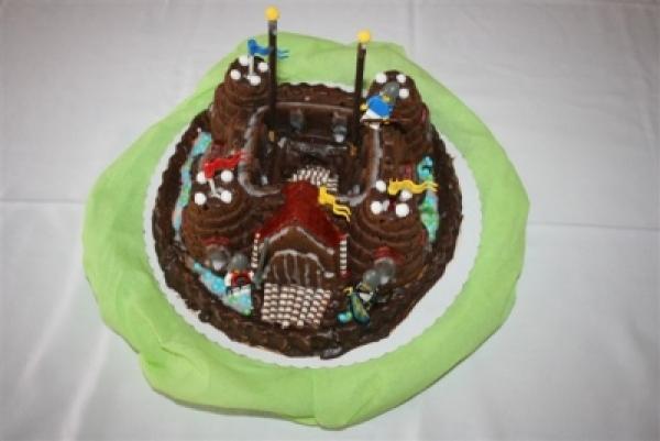 Kuchen Backform Ritterburg Verleih Kindergeburstag