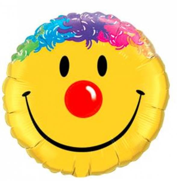 Folienballon Smiley (45cm)