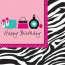Servietten Pink Zebra Boutique