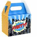 Party Box Superhero (pop art)
