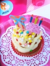 "Meri Meri Cupcake Kit ""Eat more Cake"" 48tlg."