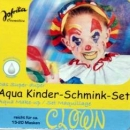"Aqua Creativ Schminkfarben-Set ""Clown"""